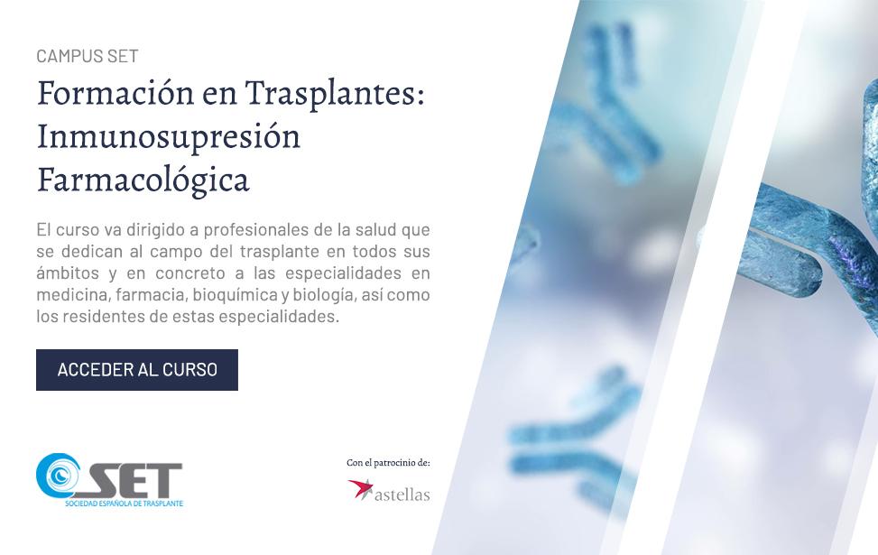 Formación en Trasplantes: Inmunosupresión Farmacológica
